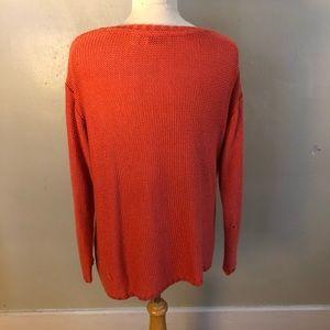 Vintage Sweaters - Vintage oversized Salmon Sweater